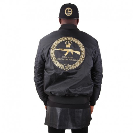 Bomber Jacket Golden AK-47